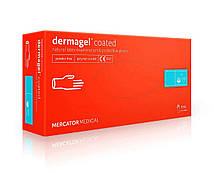 Рукавички Mercator Medical Dermagel Coated латексні 100шт М Білий