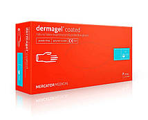 Рукавички Mercator Medical Dermagel Coated латексні 100шт XL Білий