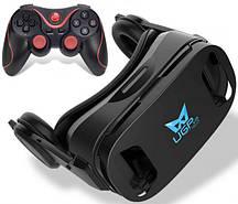 3D Окуляри шолом віртуальної реальності Baidroid UGP U8 c джойстиком Terios T3 Чорний