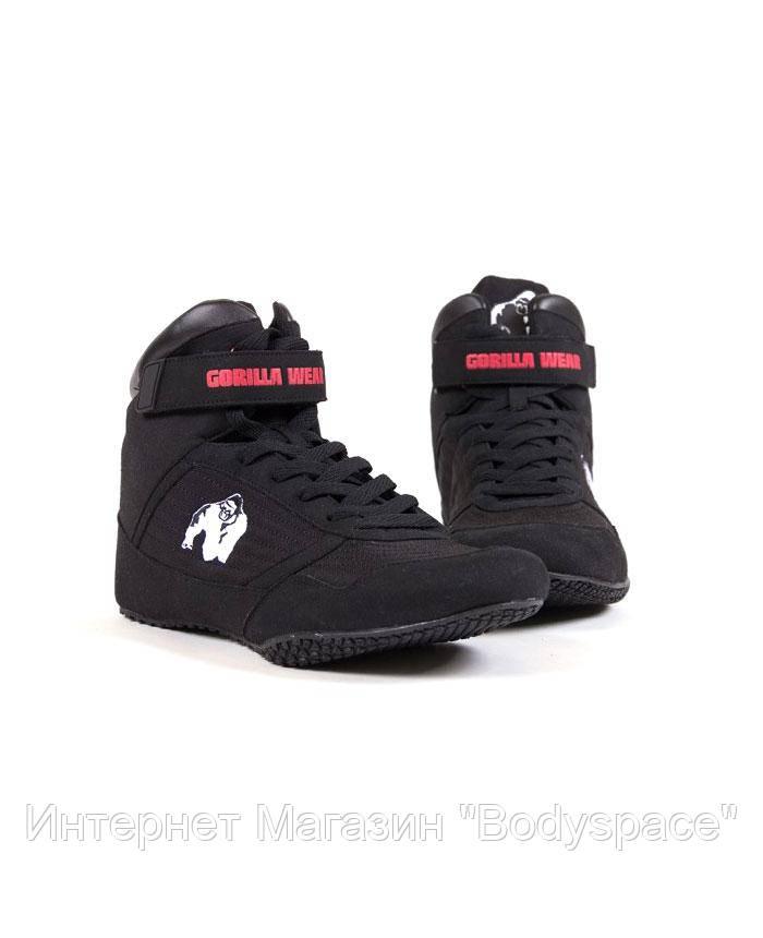 Gorilla Wear, Кросівки High Tops Black, Чорний, 41