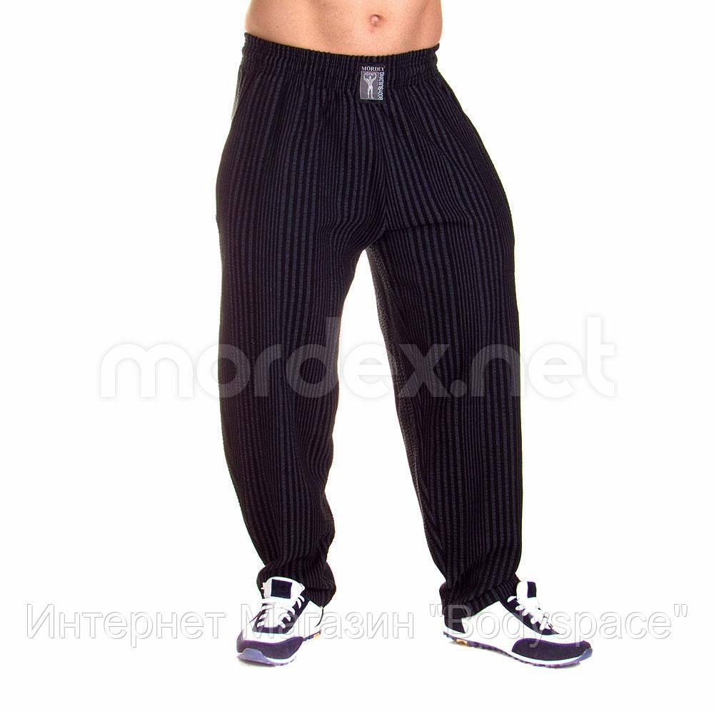 Mordex, Штаны спортивные зауженные Мордекс MD3591-4 черный/серый, Черный/серый, L