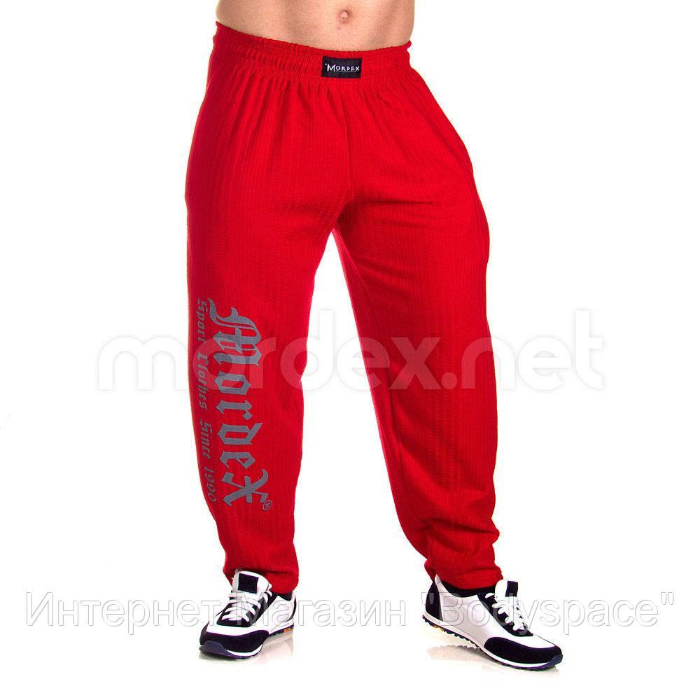 Mordex, Штаны спортивные зауженные Мордекс MD3598-1 красные, Красный, M