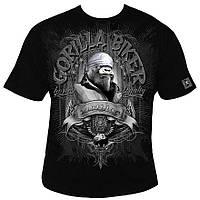 Silberrucken, Футболка GB27 Gorilla Biker Sacrifice, Чорний, M