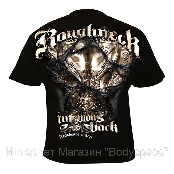 Silberrucken, Футболка MR16 Roughneck Infamous, Чорний, L