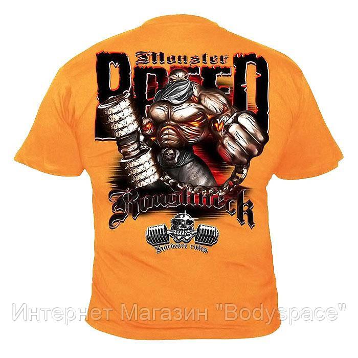 Silberrucken, Футболка MR24 Roughneck Monster Breed помаранчева, Помаранчевий, M