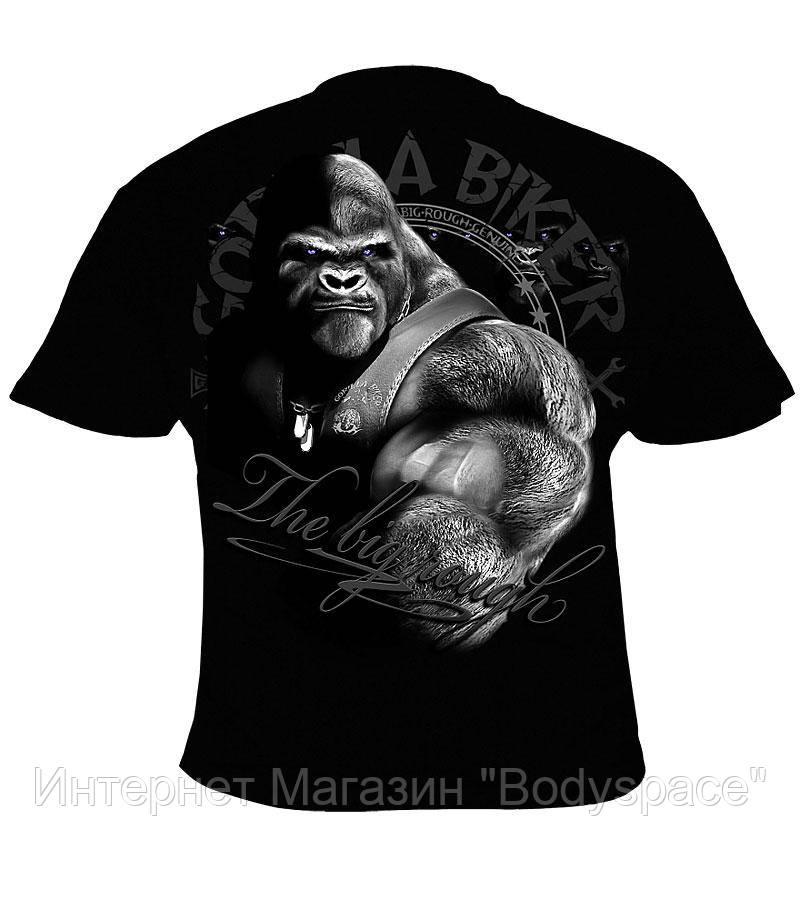 Silberrucken, Футболка GB47 Gorilla Biker All For One, Чорний, M