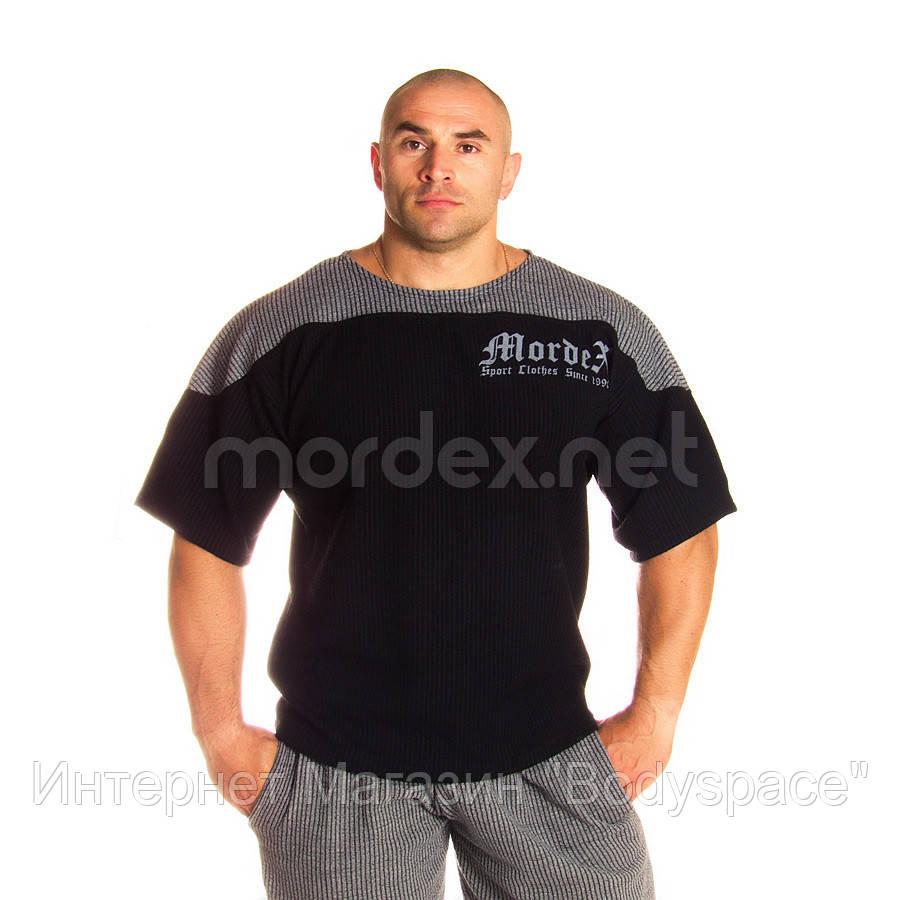 Mordex, Размахайка Mordex Gym Sport Clothes, чорно-сіра, Чорний/сірий, 3XL