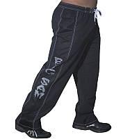 Big Sam, Штаны спортивные ровные 1009 Trainingshose Bodyhose Bodybuilding, Черный, S