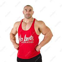 No Limits, Майка Athletics Workout Tank Top MD6024 червона, Червоний, M, фото 1