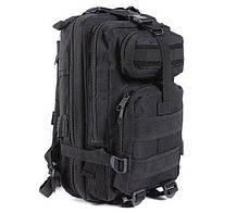 Рюкзак военный тактический штурмовой с USB Спартак Molle Assault 36L Black (007031)