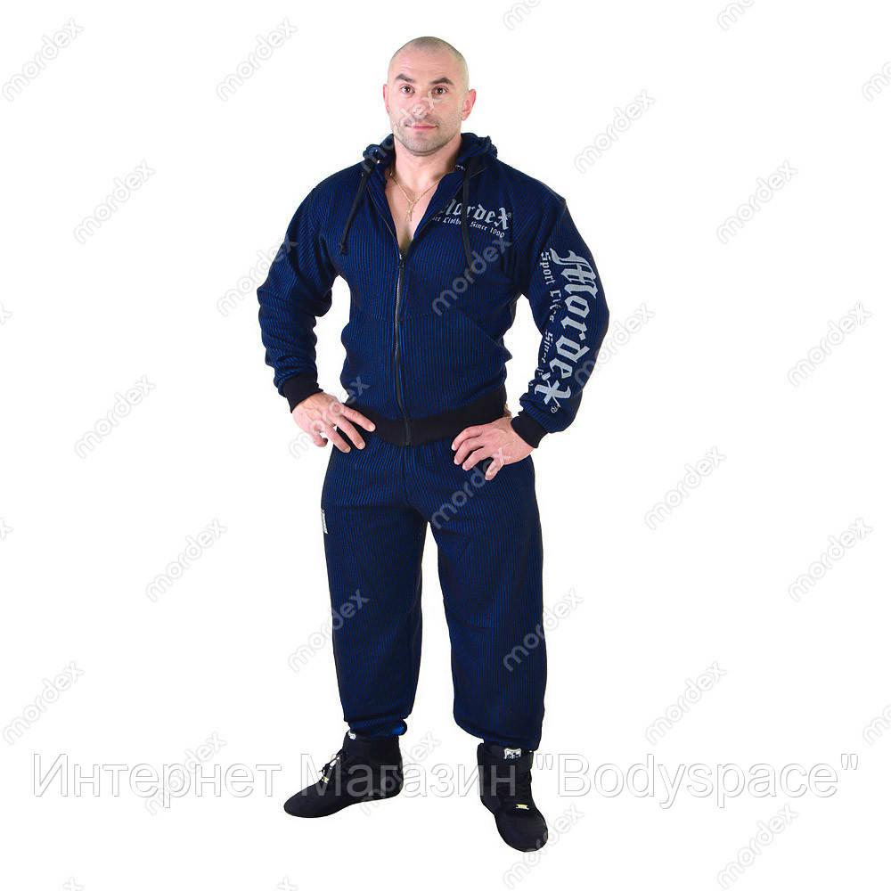 Mordex, Костюм спортивний Мордекс MD5154-8 чорний/синій, Чорний/синій, M