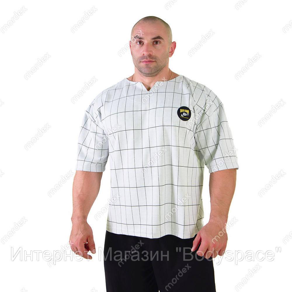 Big Sam, Размахайка Mens Oversize Rag Top T-Shirt 3130, Серый, S