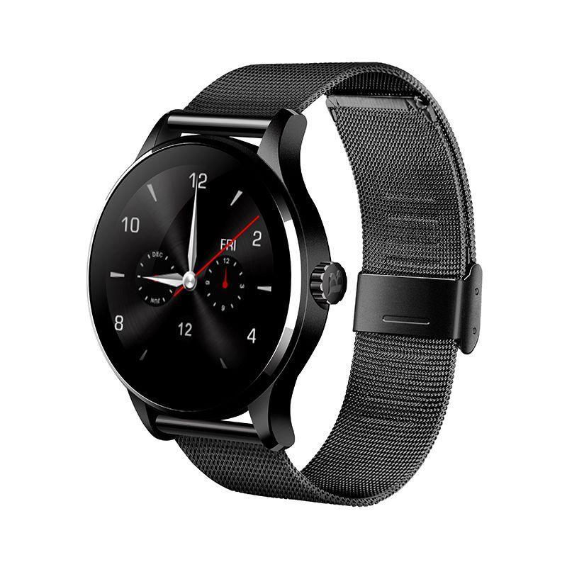 Розумні годинник Lemfo K88H з пульсометром Чорний (swlemk88hbl)