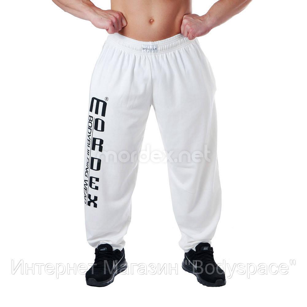 Mordex, Штаны спортивные зауженные Мордекс MD3555-8 Белые, Белый, L