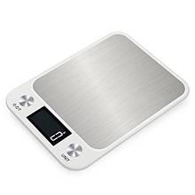 Весы кухонные электронные Zally CX 10 кг Белые