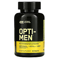 Optimum Nutrition, Вітаміни Opti-Men (men's Multiple), 90 таблеток, 90 таблеток, фото 1