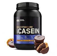 Optimum Nutrition, Протеин 100% Casein Gold Standard, 909 грамм, Шоколадно-арахисовое масло, 907 грамм