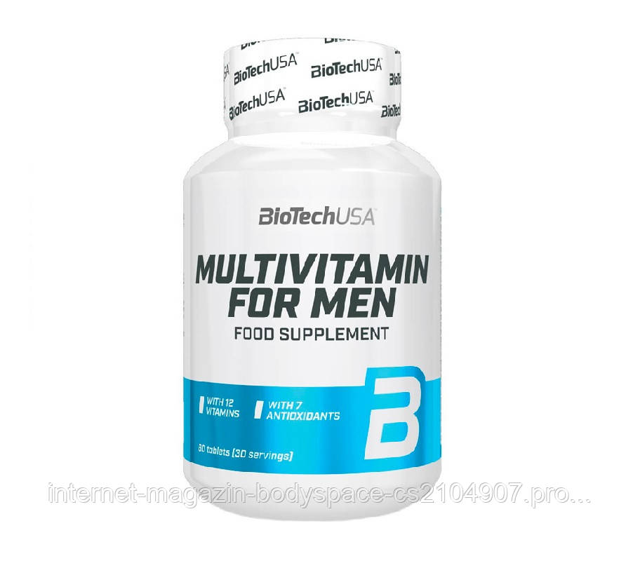 Biotech USA, Вітаміни Multivitamin for Men, 60 таблеток, 60 таблеток