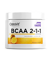 OstroVit, Бцаа Extra Pure BCAA 2.1.1, 200 грамм, Лимон, 200 грамм