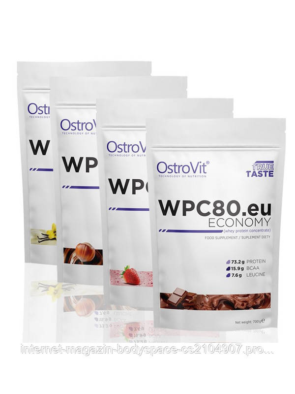 OstroVit, Протеин Economy WPC80.eu, 700 грамм, Шоколад, 700 грамм