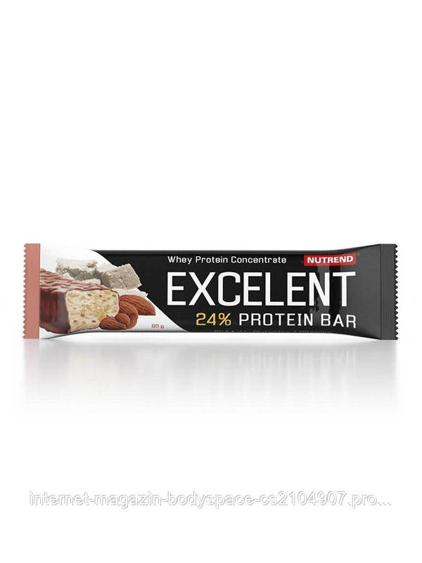 Nutrend, Спортивный батончик Excelent Protein Bar Marzipan with Almonds, 85 грамм
