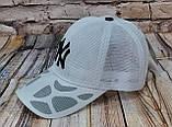 Жіноча бейсболка з сіткою нью йорк чорний логотип, фото 2