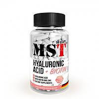 MST Sport Nutrition,Витамины Hyaluronic Acid 150 mg Biotin Zink, 90 капсул