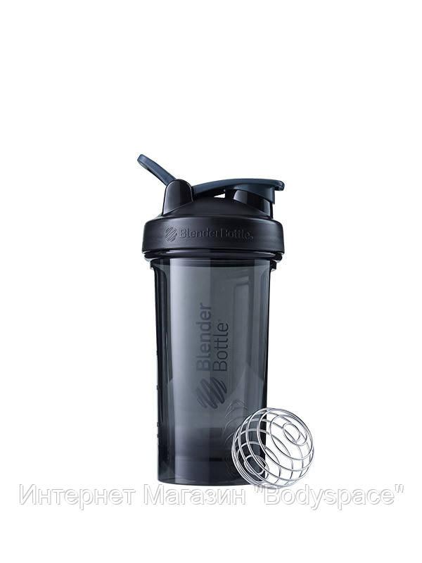 Blender Bottle, Спортивный шейкер-бутылка Pro24 Tritan 24oz/710ml Black, Черный, 710 мл
