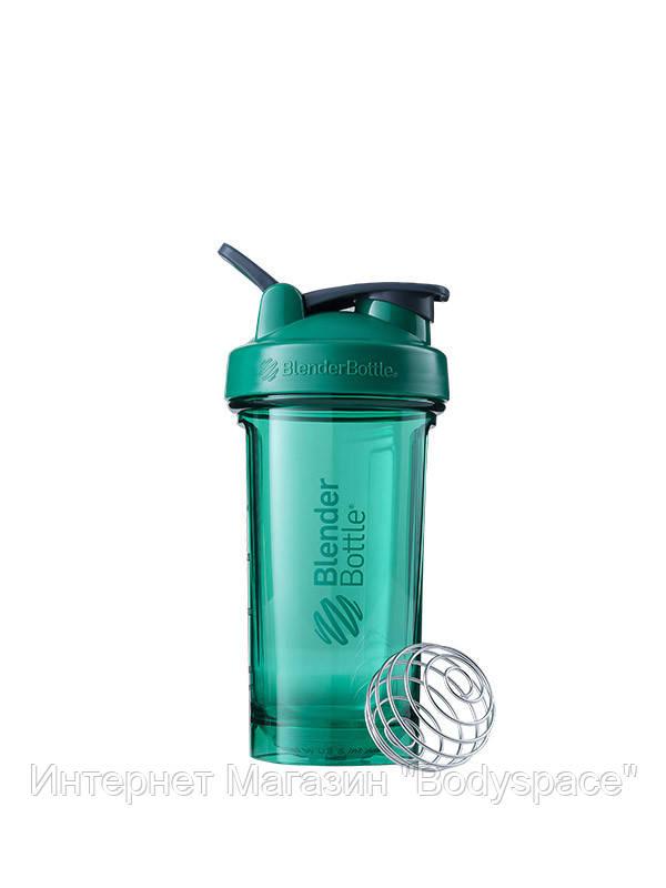 Blender Bottle, Спортивний шейкер-пляшка Pro24 Tritan 24oz/710ml Green, Зелений, 710 мл