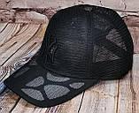 Жіноча бейсболка з сіткою нью йорк чорний логотип, фото 4