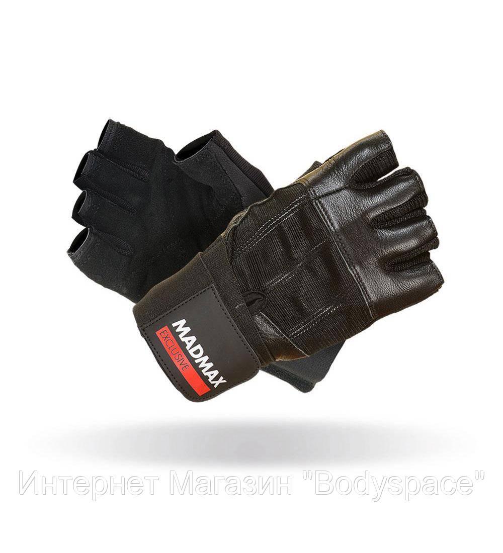 MadMax, Рукавички спортивні Professional MFG 269. Колір чорний