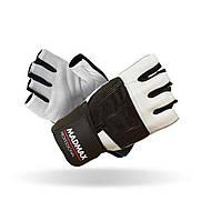 MadMax, Рукавички спортивні Professional MFG 269. Колір чорний/білий