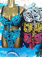 Купальник женский раздельный ТРЕУГОЛЬНИКИ размер норма 42-50,цвет уточняйте при заказе