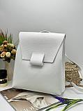 Жіноча стильна сумка; турецька еко-шкіра PU, розміри 29*34*11 см, 4 кольори, фото 3