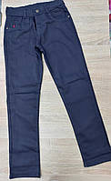 Підліткові шкільні штани для хлопчика розмір 11-14 років,колір темно-синій