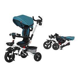 Триколісний велосипед TILLY FLIP T-390 Червоний Зелений