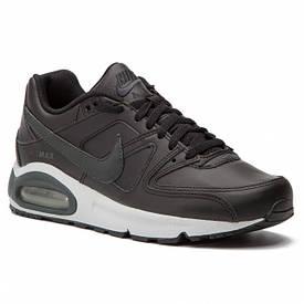 Кроссовки Nike air max command 749760 кожа черный