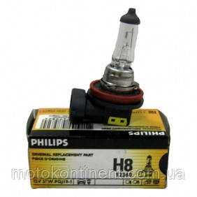 H8 Автолампа PHILIPS 12360C1 H8 CP 12V 35W  STANDARD