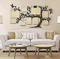 Композиция- панно на стену для украшения интерьера дома № 7 150х120 см