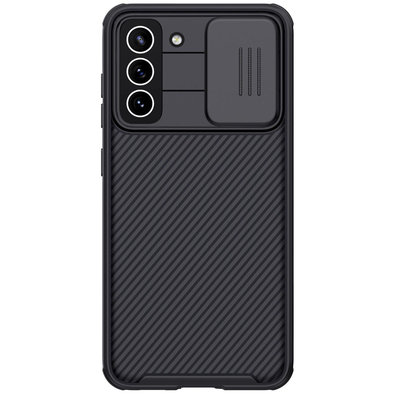 Защитный чехол Nillkin для Samsung Galaxy S21 FE 2021 (CamShield Pro Case) Black с защитой камеры