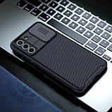 Защитный чехол Nillkin для Samsung Galaxy S21 FE 2021 (CamShield Pro Case) Black с защитой камеры, фото 6