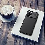Защитный чехол Nillkin для Xiaomi Redmi Note 10 Pro 5G (CamShield Case) Black с защитой камеры, фото 6