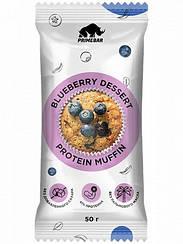 Смесь для выпечки протеиновый маффин в кружке Primebar Protein Muffin Черничный Десерт (50 грамм)