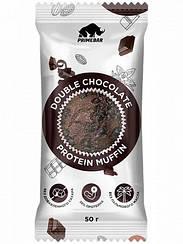 Смесь для выпечки протеиновый маффин в кружке Primebar Protein Muffin Двойной Шоколад (50 грамм)