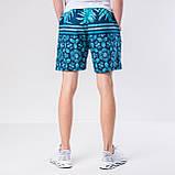 Мужские шорты (плащевка), бирюзового цвета, фото 3