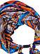 """Шелковый шарф """"золото египта"""", атласный платок, шарф-колье, шарф-чокер, шейный платок, фото 2"""