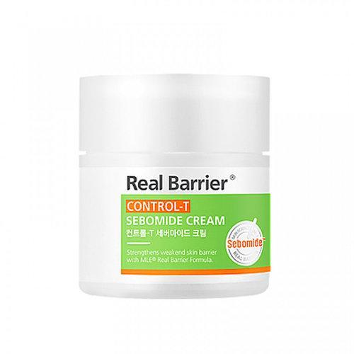 Себорегулирующий увлажняющий крем для жирной кожи Real Barrier Control-T Sebomide Cream 50 ml