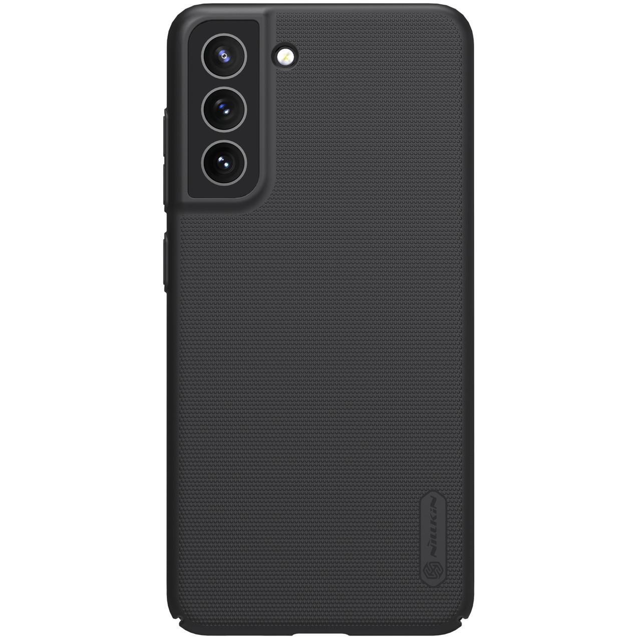 Захисний чохол Nillkin для Samsung Galaxy S21 FE 2021 Super Frosted Shield Black Чорний