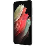 Захисний чохол Nillkin для Samsung Galaxy S21 FE 2021 Super Frosted Shield Black Чорний, фото 4
