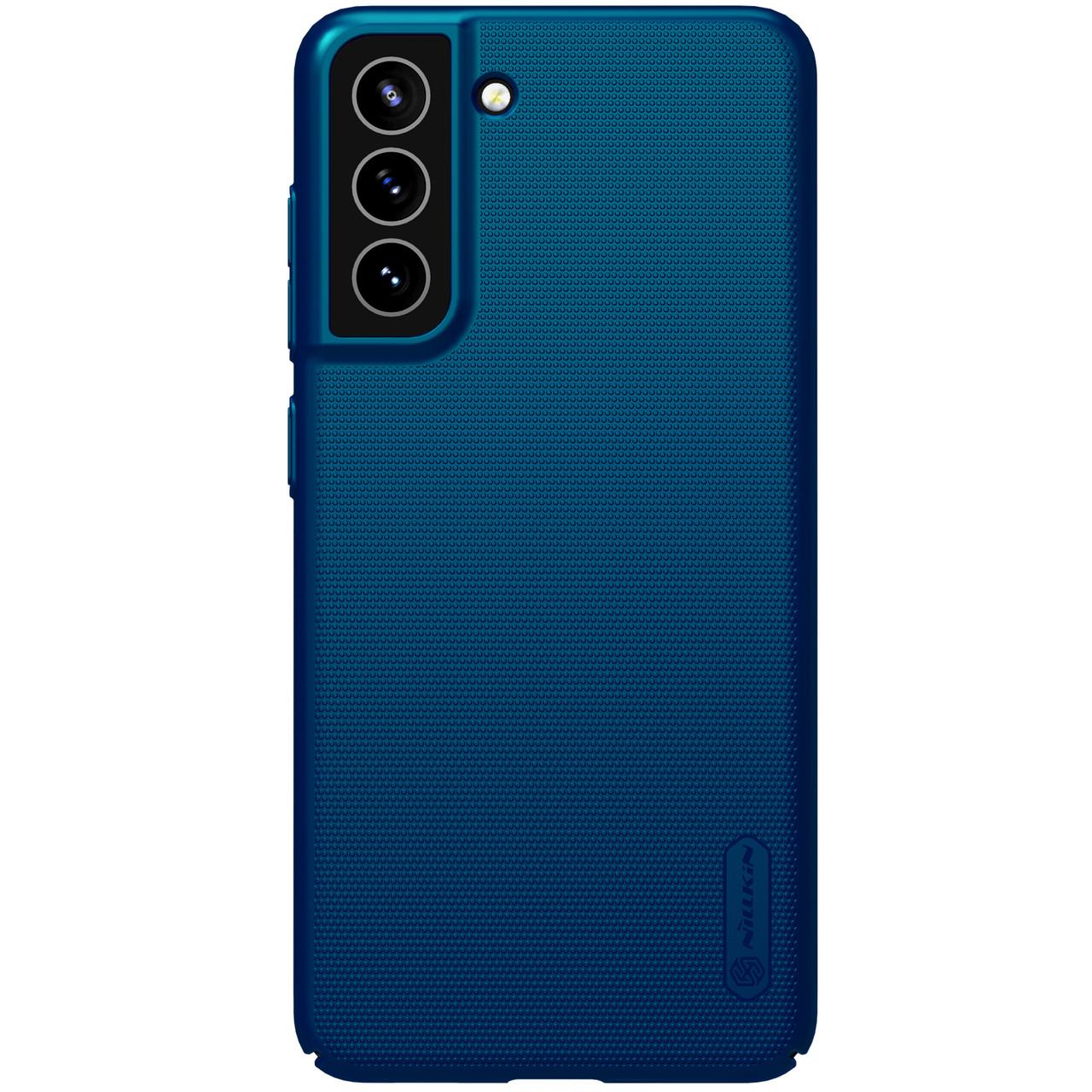Захисний чохол Nillkin для Samsung Galaxy S21 FE 2021 Super Frosted Shield Blue Синій